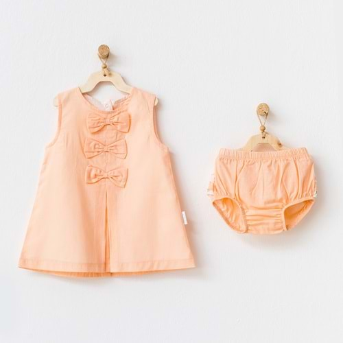 BEBEK ELBİSE TAKIM DRESS SET STARFISH AND FRIENDS